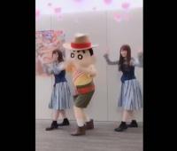 【日向坂46】クレヨンしんちゃんとキュンキュンダンスキタ━━━(゚∀゚)━━━!!