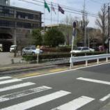 『熊本電鉄の併用軌道』の画像