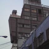 『御徒町駅前の人型ビル!?』の画像