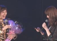 【紅白選抜】小嶋陽菜、公演中に大家志津香に投票www