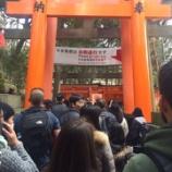 『千本鳥居に奉納 for 伏見稲荷大社』の画像