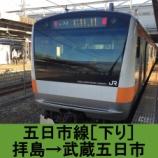 『五日市線 車窓[下り]拝島→武蔵五日市』の画像