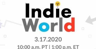 3月18日より、スイッチの新作インディーゲームを紹介する「Indie World Showcase」が放送決定!