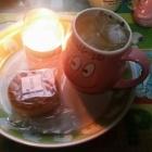 『(´・ω・`)胡桃月餅で飲茶』の画像