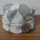 『こんな帽子が欲しかった、自分で作る簡単ニット帽』の画像