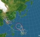 【名前は大雨】 台風10号「マットゥモ」発生