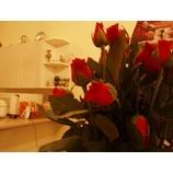 『バラの花、赤。』の画像