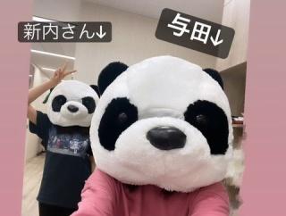 何被ってるんだwww 与田×新内『乃木坂46のANN』放送直前!シュールすぎる2ショットが公開wwwwww