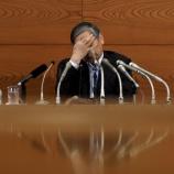 『【悲報】全部売れ!!!!日本GDP成長率、マイナスに転じた可能性…』の画像