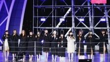 「IZ*ONE CHU 秘密の友達」ゲリラライブ ステージ写真公開