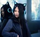 【画像】猫耳スピーカー搭載ヘッドフォン 150ドル(税・送料込み)