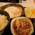 鮎鮨街道を歩く直前の朝食を、吉野家で