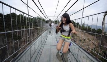 【画像】中国がまたヤバい橋を建造する