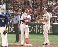 【オールスター】阪神ジョンソン、一塁ランナーコーチ!