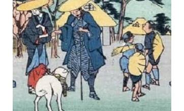 【画像】江戸の人「伊勢参りしたいけどジジイだから無理か……せや!代わりにウチの犬行かせたろ!」