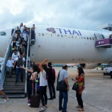 『タイ航空国内線エコノミークラスの旅 バンコク⇒クラビ』の画像
