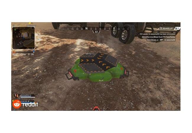 【APEX LEGENDS】オクタンのULT『ジャンプパッド』が発見され話題に!!動画あり