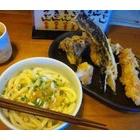 『うどん&天ぷら』の画像
