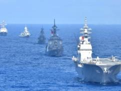 海上自衛隊、韓国との連合訓練で韓国海軍を煽る煽るwwwwww その画像がこちらwwwwww