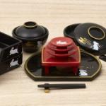 日本の伝統文化「和食器」のミニチュアフィギュアがガチャに登場!「和食器 兎ノ月」