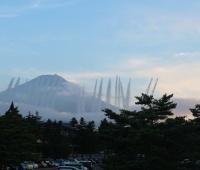 【欅坂46】共和国の放水が写ってる富士山画像…こんな勢いなのか!
