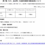 『戸田市 降下物(ちり・雨水)に放射性物質不検出 1月30日〜2月27日までの調査分』の画像
