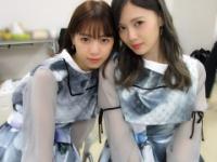 【乃木坂46】西野七瀬が白石麻衣と2ショット!!!(画像あり)