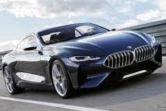 BMWの最上級クーペ「コンセプト 8シリーズ」ご覧下さい