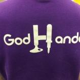 『スタッフのゴッドハンダTシャツ 揃えました! 』の画像