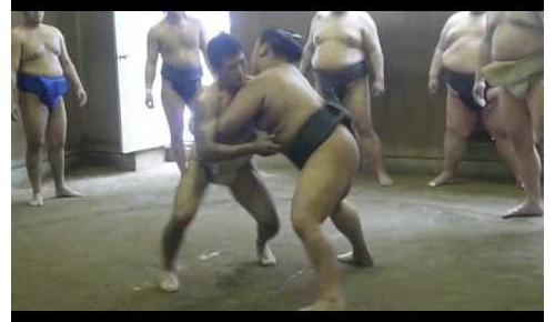 柔道家が力士と相撲部屋で相撲勝負した2009年当時の貴重映像 意外な結果に海外驚き