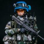 中国人民解放軍 国連平和維持活動 平和維持部隊の女兵士がアクションフィギュアに!