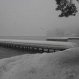 『【2014冬の聖地巡礼】冬の木崎湖・Yショップとキャンプ場編』の画像