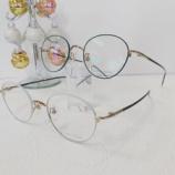 『ボストンシェイプでかわいい色使いのメガネ『HUSKY NOISE』』の画像