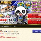 『日曜開始のキャンペーン(06月24日付)SPminiでパンダ!!このラインナップはヤバい(UCを除く)』の画像