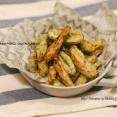 【レシピ】やみつき♡のり塩フライドれんこん♪ と 栄養補給。