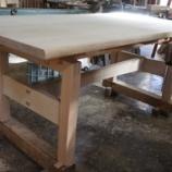 『楢のテーブル・北岳の雪』の画像