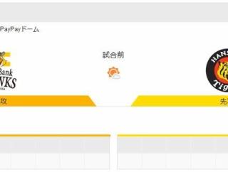 阪神タイガースが明日からソフトバンクにボコられるという事実