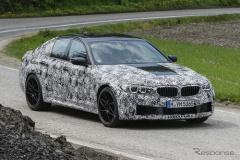 BMW「M5 セダン」次世代型 M5史上最強の626馬力を発揮