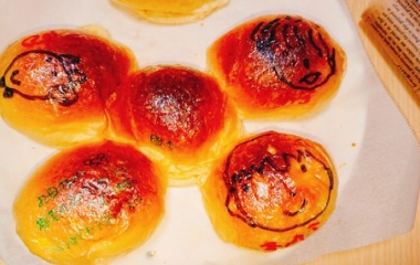 『敬老の日やサプライズに!!オブアートパン』の画像