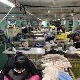 『クラフトマンシップを感じる縫製工場』の画像