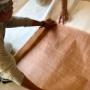 四方八方に伝統構法と技術が詰まった割烹『うを兼』の和室に風格の土佐表
