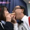 【画像】NMBの生娘、禿メガネに穢される