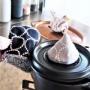 【ミナペルホネン】家事のモチベUP♪タンバリン柄の鍋つかみ追加~♪