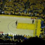 『サンフランシスコ旅行記20 NBA現地観戦!ブレイザーズVSウォーリアーズ プレイオフ・セミファイナル ゲーム2(後半)』の画像