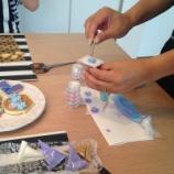 『アイシングクッキーの教室に行ってきました』の画像