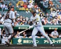 【阪神】北條は空振り三振 原采配にほんろうされる カウント2-2から投手交代