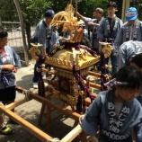 『戸田市鍛冶谷町会子ども神輿が行われました』の画像