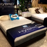 『シーリー社の新作ベッド』の画像