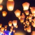 新潟市初開催!『やすらぎ堤』が一夜限りの幻想的空間に!『新潟スカイランタンフェスティバル2019』開催。9月22日。※中止の場合有