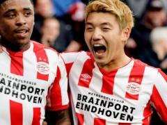PSV堂安律、フル出場で2点目をアシスト!